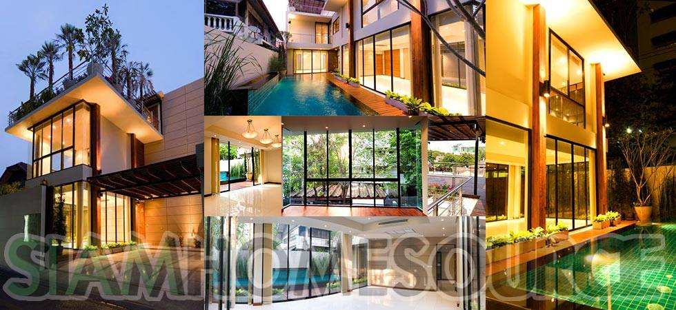 Modern Luxury Pool Villa in Convenient Peaceful Area of Thonglor