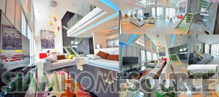Bangkok Penthouse – Ultra Modern Executive Bachelor Pad