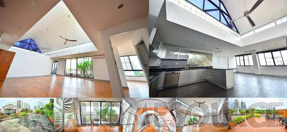 Brilliant One-of-a-Kind Bangkok Penthouse – Rooftop Terrace