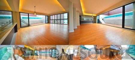 Unique & Rare 3BR Asoke Private Pool Penthouse Bachelor Pad