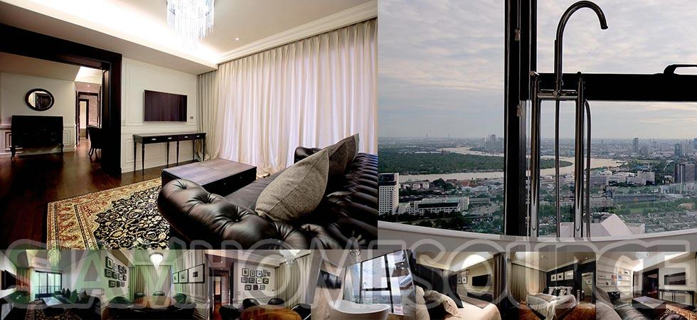 Classy, Well Designed 3BR Phrom Phong Penthouse Suite