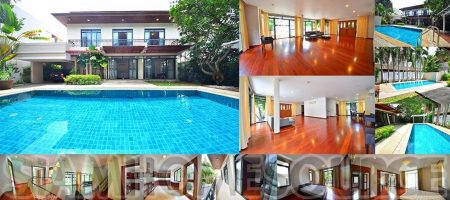 Beautiful 4BR Lower Sukhumvit Family House w/ Private Pool
