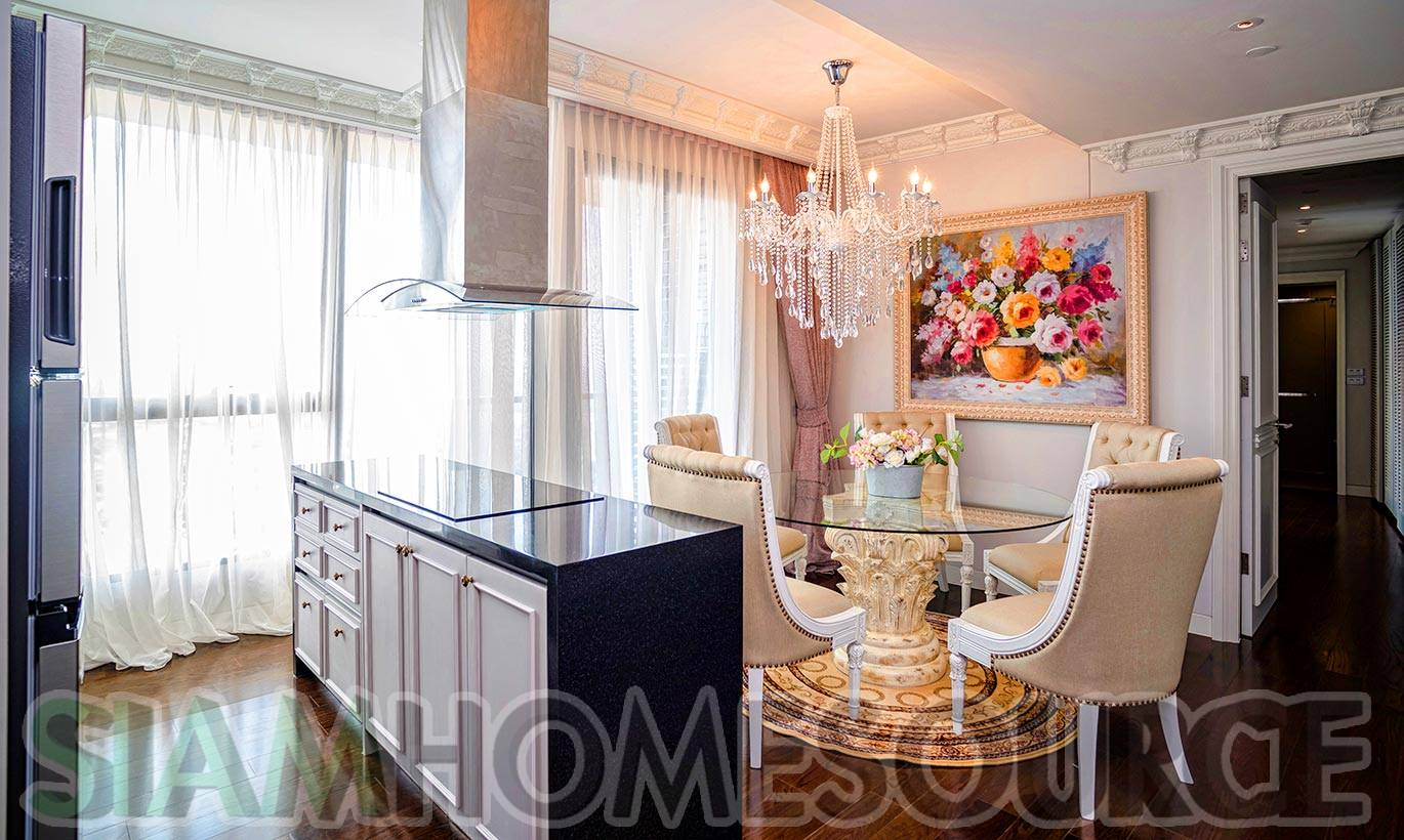 cozy u0026 modern luxury 3br phrom phong penthouse siam home source