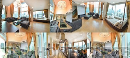 Cute, Cozy & Bright 3BR Asoke Duplex Penthouse