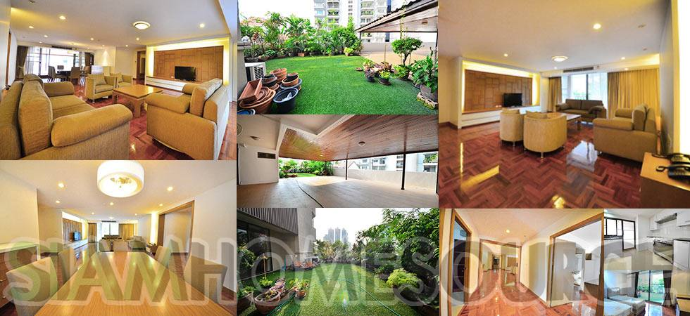 Spacious 3BR Pet Friendly Apartment w/ Vast Garden Terrace