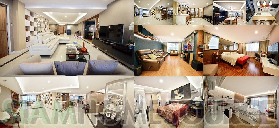 Pristine, Newly Renovated 4BR Bangkok Family Condo