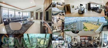 Beautiful 4BR Bangkok River View Luxury Condo