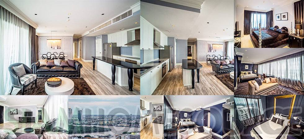 Gorgeous, Lavishly Done 3BR Bangkok Penthouse